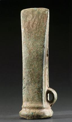 Bronze votive axehead, Brittany, France, Bronze Age, 2000-500 BC.