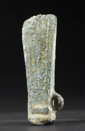 Bronze votive axehead, European, Bronze Age, 2000-500 BC.