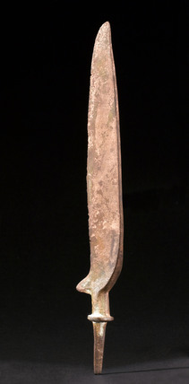 Bronze knife blade, European, Bronze Age, 2000-500 BC.