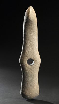 Stone axe hand tool, European, Stone Age, 8500-2000 BC.