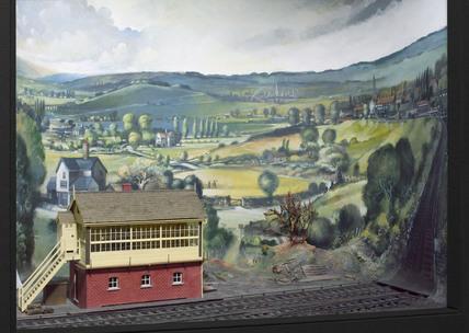 Railway signal box, 1863-1900.