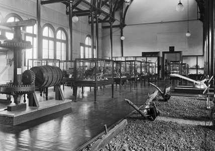 Agriculture gallery, Science Museum, London, October 1928.