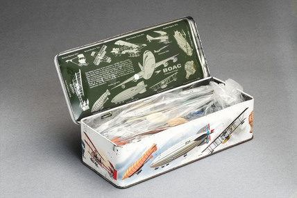 BOAC 'Evolution of Flight' paintbox, 1969-1970.