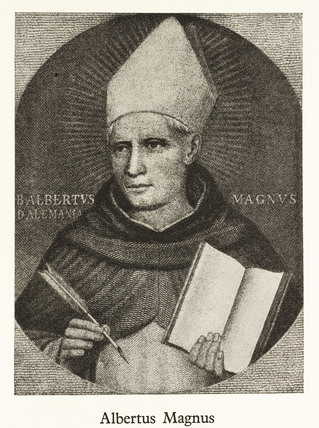 Albertus Magnus, German theologian and philosopher, 13th century.