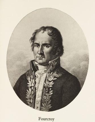 Antoine-Francois de Fourcroy, French chemist, late 18th century.