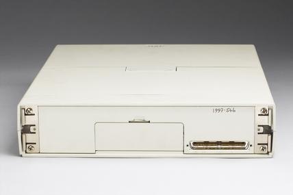 IBM laptop computer, 1987-1988.