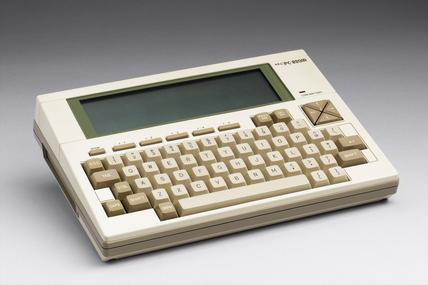 NEC personal portable computer, 1984.
