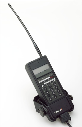 Excell Communications M2 pocket phone, c. 1990's.
