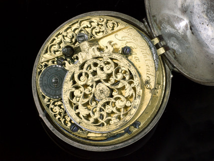 Verge watch by Johannes van Ceulen of the Hague, c 1695.