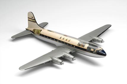 Model of Handley page Hermes Civil Airliner.