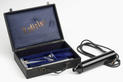 Radiolux Violet Ray Set, c. 1930.