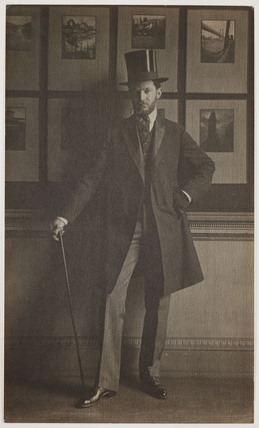 'Portrait of Alvin Langdon Coburn,' 1906.