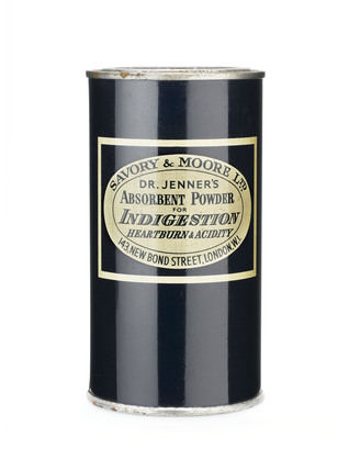 Dr Jenner's indigestion powder.