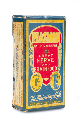 Plasmon 'nerve and brain food', 1900-1950.