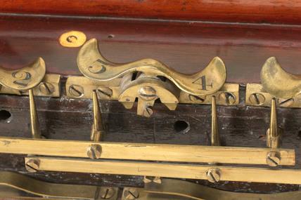 Cooke and Wheatstone's double-needle telegraph, 1838.
