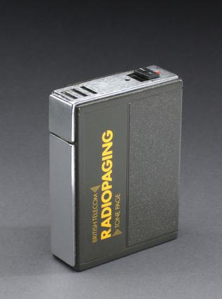 Motorola tone pager, c 1985.