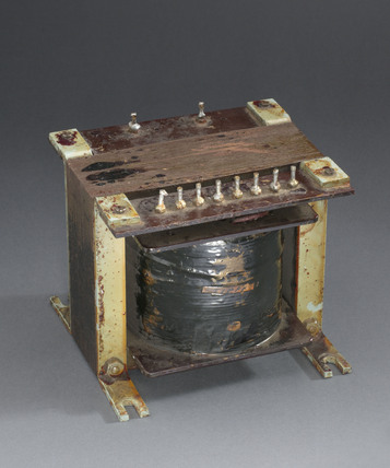 'Colossus' valve heater transformer, 1940-1950.