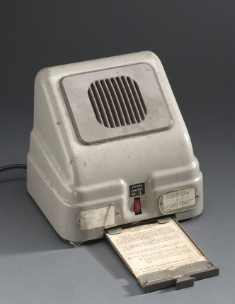 Nuclear early warning reciever, c 1960.