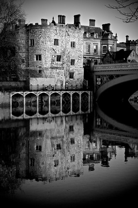 Lendal Bridge Landing, York, 2005.