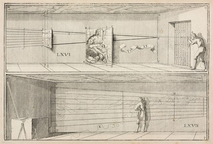 Plate from 'La Perspective curieuse', 1638.