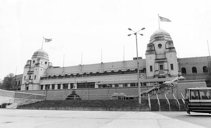 Wembley Stadium, London, c 1980s.