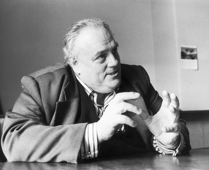 Cyril Smith, British politician, c 1980s.