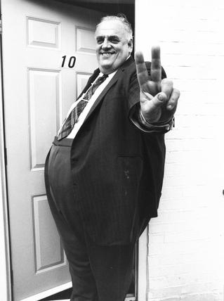 Cyril Smith, British politician, September 1983.