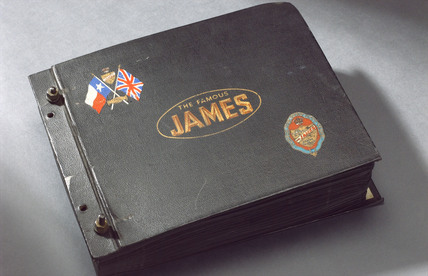 Photograph album of the James Cycle Co Ltd, 1940s.