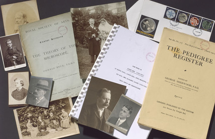 Papers and photographs of the Beck microscope manufacturers, 1883-1989.