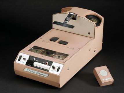 Juli Phone telephone answering machine, c 1970.