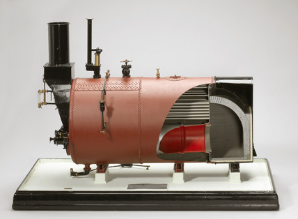 Paxman Economic boiler, c 1910.