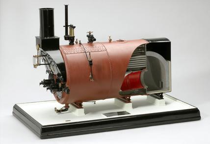 Paxman Economic boiler, c 1910.