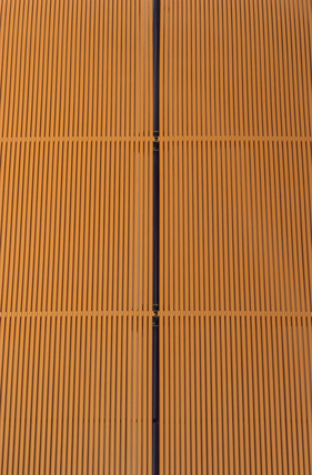 Solar collector for a swimming pool, 2004.