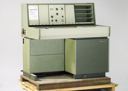 Nuclear magnetic resonance spectrometer, 1969.