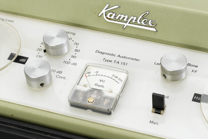 Diagnostic audiometer, c 1970-1980.