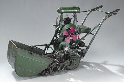 ATCO motor-driven lawnmower, c 1925.