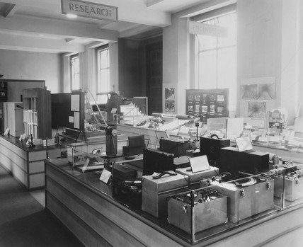 Noise Abatement exhibition, Science Museum, London, 1935.