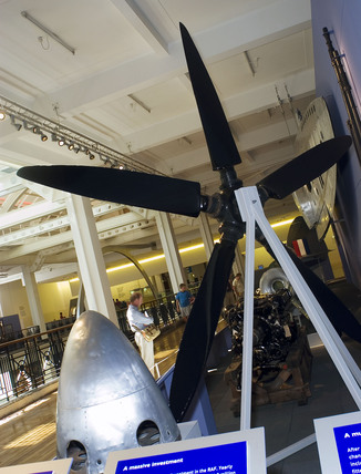 Spitfire exhibition, Science Museum, London, 2005.