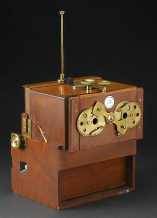 Stereoscopic camera, 1856.