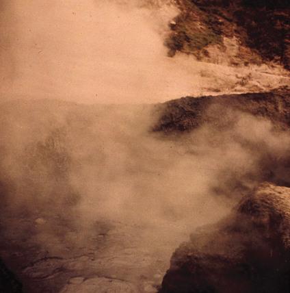 Boiling Mud, Solfatara.
