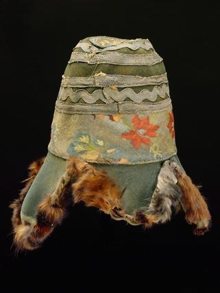 Shaman's hat Nepal, 1986.