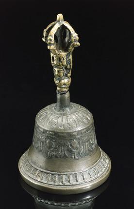 Hand bell, Nepal, 1986.