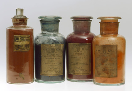 Synthetic colorants, c 1900.