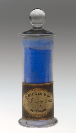 Synthetic blue colorant, c 1900.