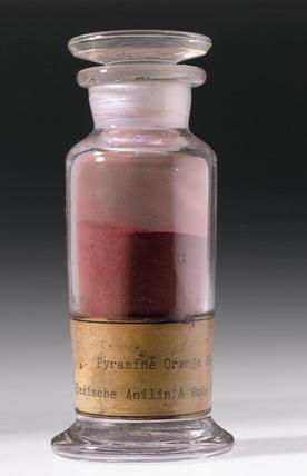 Synthetic orange colorant, c 1900.