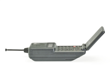 Mobile Phone Motorola flip phone.