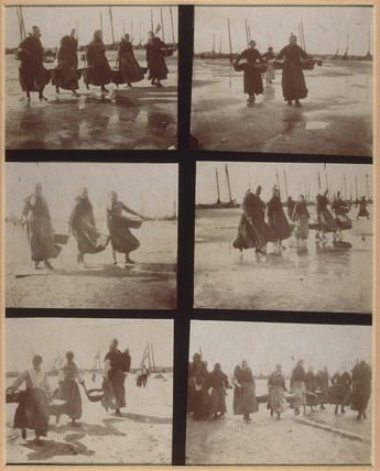 'Apres la Peche', [Bringing in the catch], c 1900-1905.