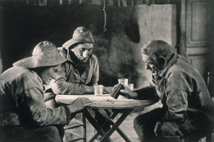 'La Partie de Des', c 1900.