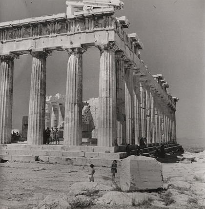 The Acropolis, Athens, 1946.