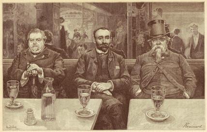 'Absinthe Professors',1899.